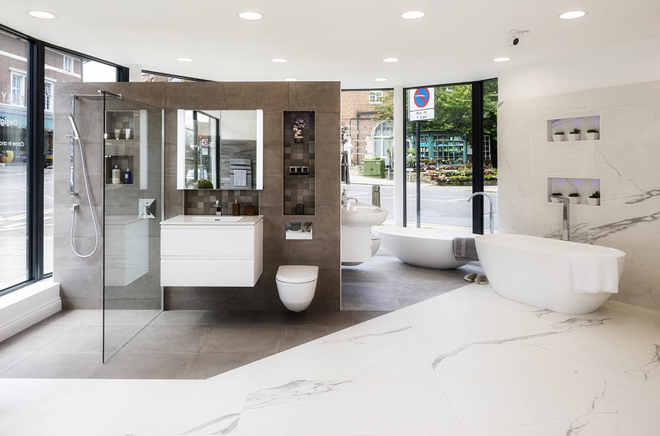 affordable luxury bathrooms finchley