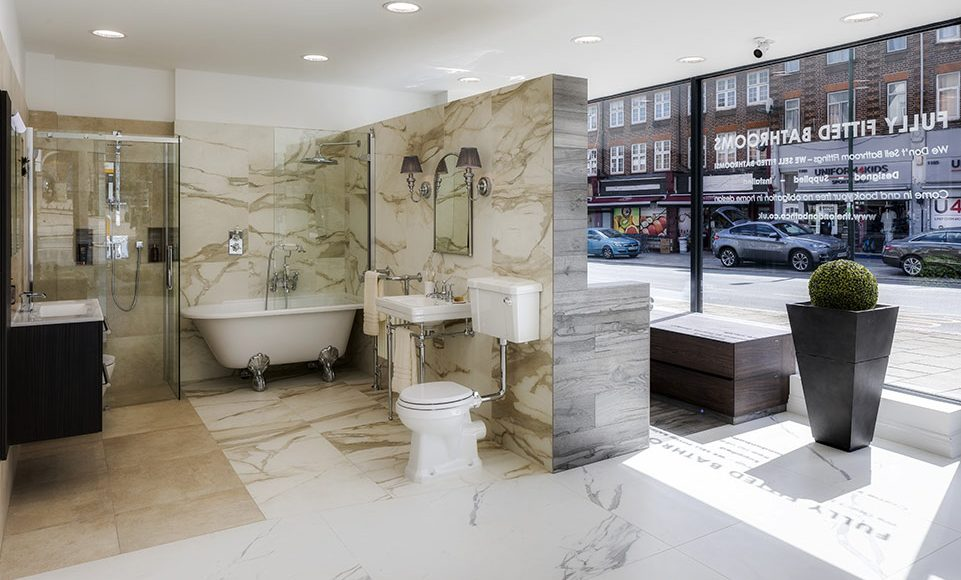 bathroom fitting service north london