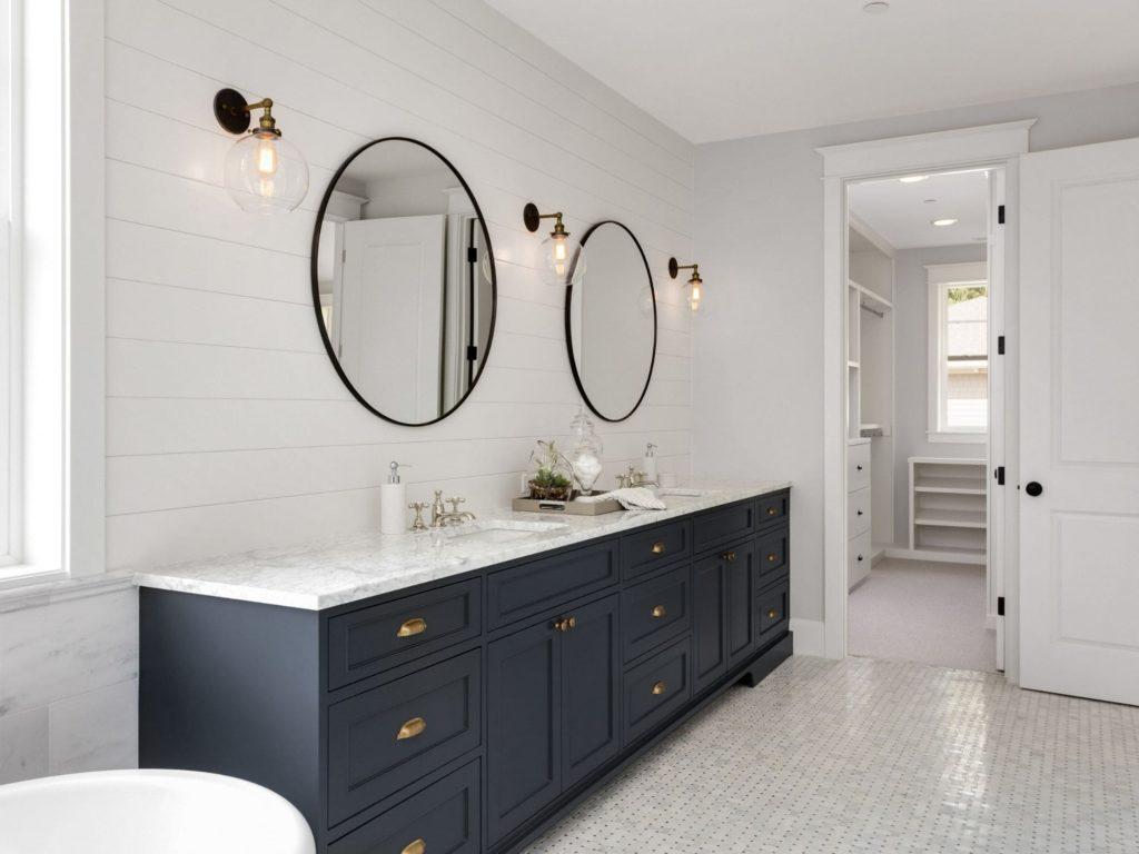 Classic Blue Bathroom